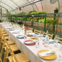 Greenhouse dining
